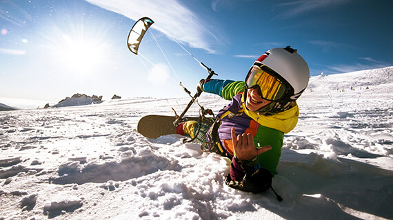 Instructor Snow Kiting Poiana Brasov